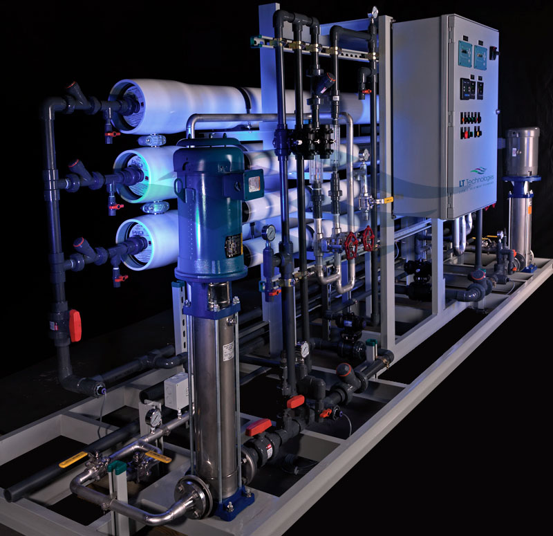 reverse osmosis for wastewater recycling essay More desalination case studies and white papers the primary desalination process being used commercially for drinking water treatment is reverse osmosis.