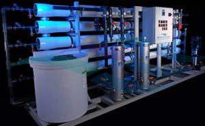 60 GPM RO water system