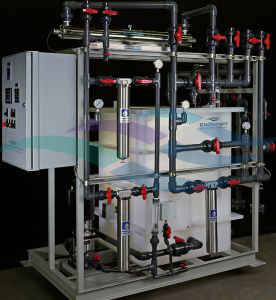 Custom DI city water make and recycle systems